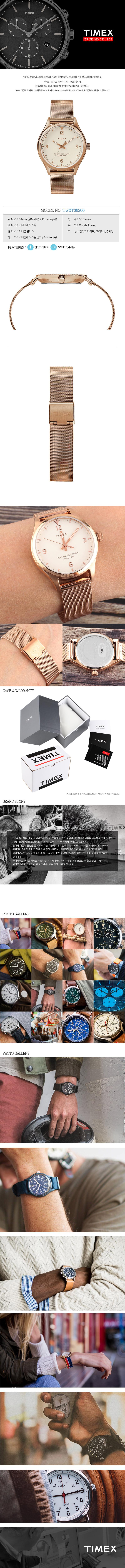 타이맥스(TIMEX) TW2T36200